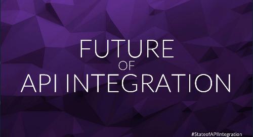 The State of API Integration 2018   Webinar Slides