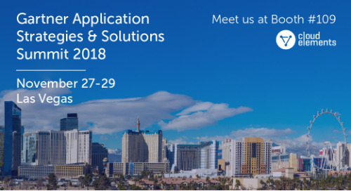Gartner Application Strategies & Solutions Summit 2018