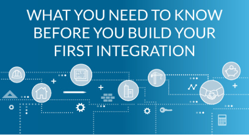 What You Need to Know Before You Build Your First Integration