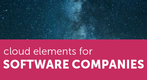 Cloud Elements for Software Companies