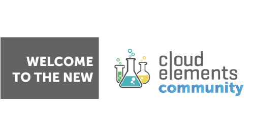 Introducing the Cloud Elements Community! A new place to share integrations.