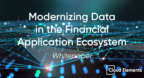 Modernizing Data in the Financial Application Ecosystem