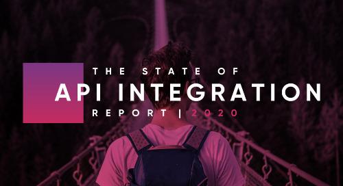 [Recording]: 2020 State of API Integration Live Event