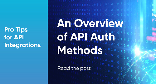 An Overview of API Authentication Methods