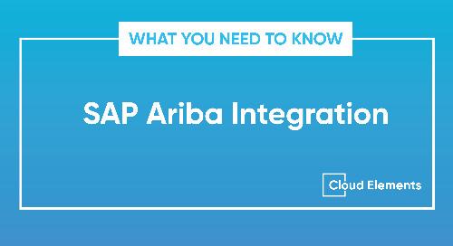 Know Before You Integrate: SAP Ariba API