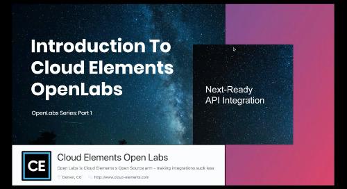 Open Labs Webinar #1