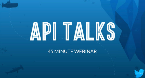 API Talks Webinar 12.15.16