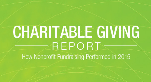 REPORT: 2015 Charitable Giving Report
