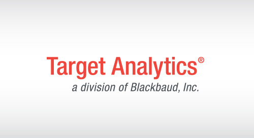 OVERVIEW: Target Analytics Fundraising Essentials