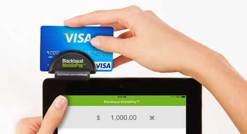 8/16: Taking Payments with Blackbaud MobilePay (Webinar)