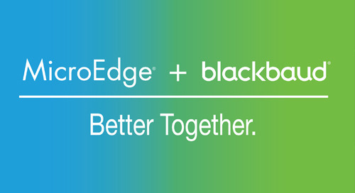 OVERVIEW: MicroEdge + Blackbaud Community Foundation Solution
