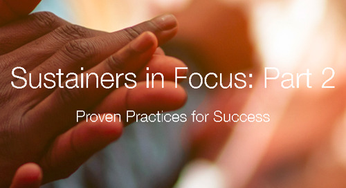 RECORDED WEBINAR: Research-Backed Practices for Monthly Giving Success
