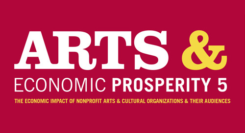 NEWS: Nonprofit Arts & Culture Industry Generates $166.3 Billion