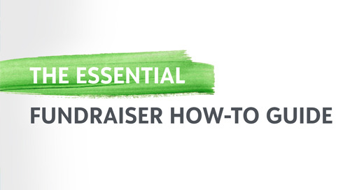 RECORDED WEBINAR SERIES: Essential Fundraising How-Tos
