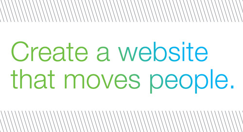 RECORDED WEBINAR SERIES: Create an unforgettable website that connects people to your mission