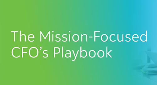 PLAYBOOK: All the Tools You Need to Become the BEST Mission-Focused Nonprofit CFO