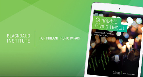 REPORT: The 2017 Charitable Giving Report