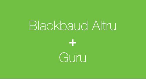 OVERVIEW: Blackbaud Altru + Guru
