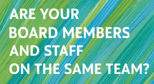 QUIZ: Are Your Board Members and Staff on the Same Team?