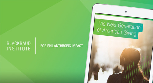 REPORT: The Next Generation of American Giving