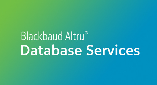 DATASHEET: Address Finder for Blackbaud Altru