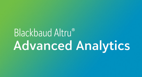 DATASHEET: Target Analytics ResearchPoint for Blackbaud Altru