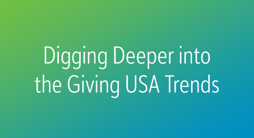 RECORDED WEBINAR: Giving USA 2018: The Trends Behind the Numbers