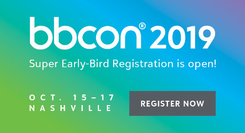 SESSION PROPOSALS ARE DUE: Join the bbcon 2019 speaker lineup in Nashville