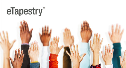 INFOGRAPHIC: Ready to put your potential donors within reach with eTapestry?