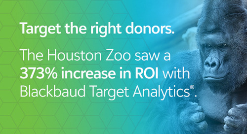 FORRESTER REPORT: The Total Economic Impact of Blackbaud Target Analytics