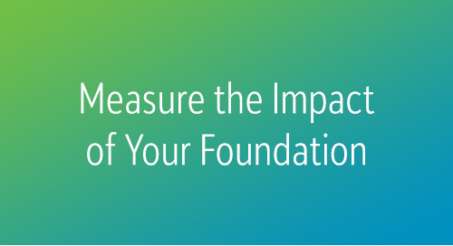 RECORDED WEBINAR: Ramping Up High-Impact Philanthropy
