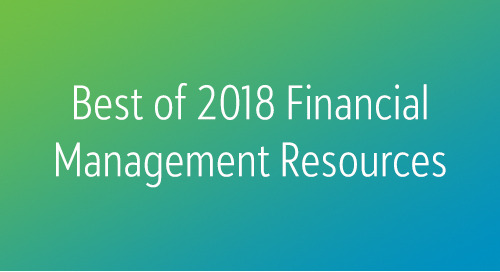 RESOURCES: The Best of 2018 Financial Management Thought Leadership