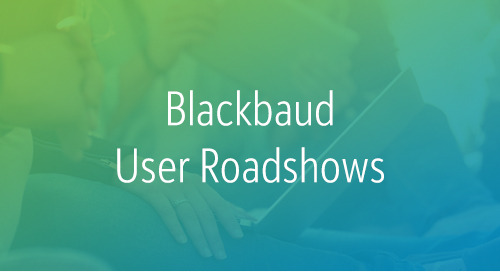 2/6: Blackbaud User Roadshow for Raiser's Edge and eTapestry Users | San Diego (Event)