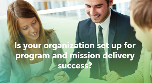 QUIZ: Is your foundation set up for program and mission delivery success?