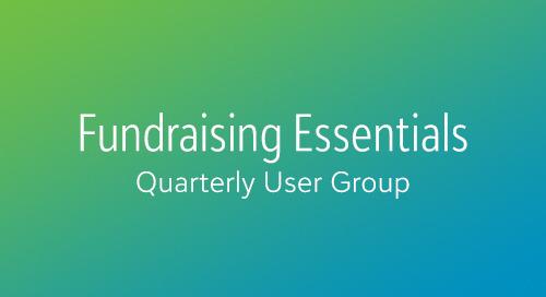 6/19: Using Analytics to Unlock Major Giving Potential (Webinar)