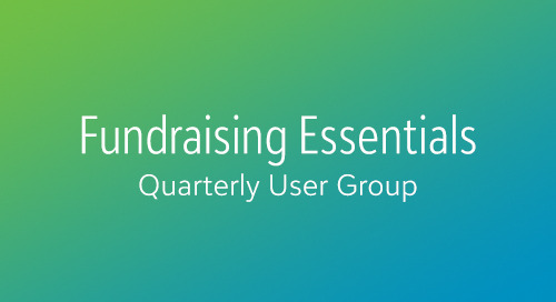 Using Analytics to Boost Annual Giving In Blackbaud Fundraising Essentials (Webinar)