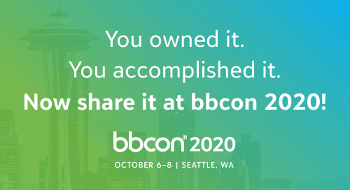 Submit a proposal to speak at bbcon 2020 in Seattle!