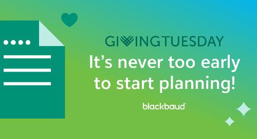 11/17: GivingTuesday Procrastinators Unite!