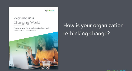 eBook: Working in a Changing World - Expert Advice for Remaining Resilient in a New Normal