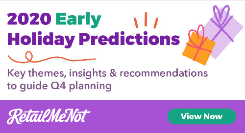 3 Early Holiday Predictions to Inform Your Q4 Strategy