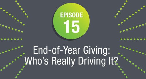 Episode 15:  End-of-Year Giving: Who's Really Driving It? (ft. Marc Pitman and Farra Trompeter)
