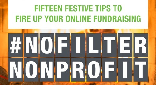 Join Us Live Today for 15 Festive Tips to Fire Up Your Online Fundraising!