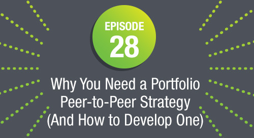 Episode 28: Why You Need a Portfolio Peer-to-Peer Strategy (And How to Develop One)
