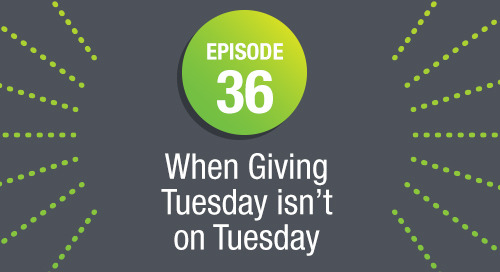 Episode 36: When Giving Tuesday isn't on Tuesday ft. Amy Daly, Project Angel Heart