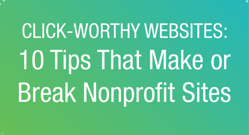WEBINAR: 10 Tips That Make or Break Nonprofit Websites