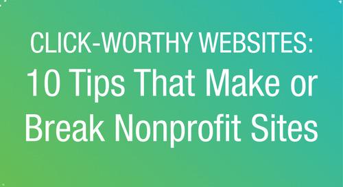 WEBINAR: 10 Tips That Make or Break Nonprofit Websites