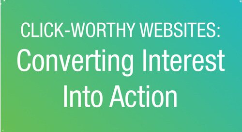 WEBINAR: Small Nonprofit Web Design: Converting Interest into Action