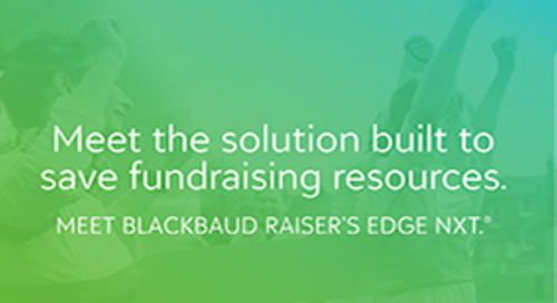 Blackbaud Raiser's Edge NXT Overview