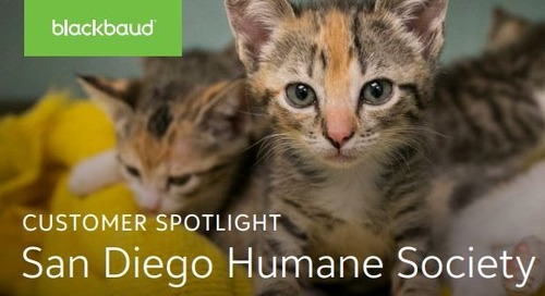 Customer Spotlight: San Diego Humane Society