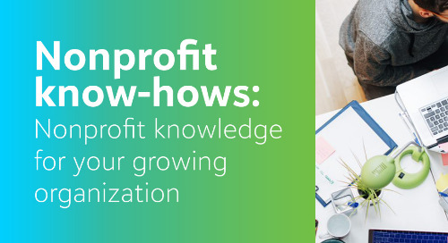 Nonprofit Know-Hows #1
